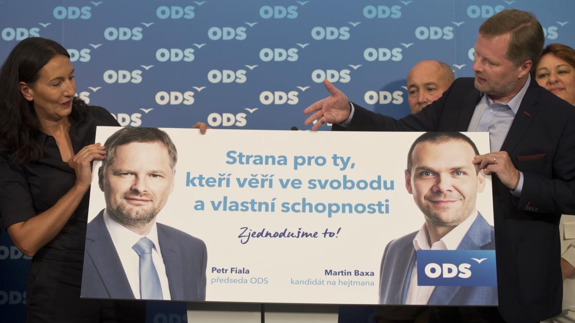 Zahájení kampaně ODS pro krajské a senátní volby