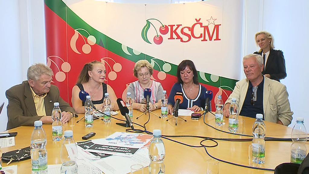Zahájení kampaně KSČM pro senátní volby