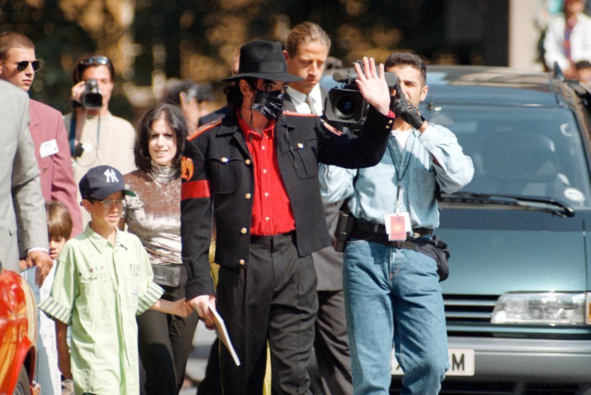 Michael Jackson na prohlídce Prahy
