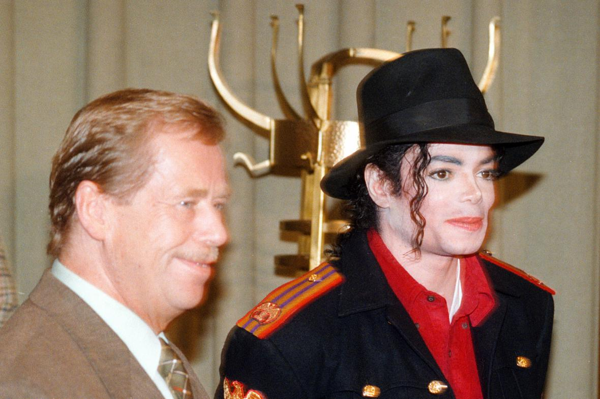 Michael Jackson a Václav Havel
