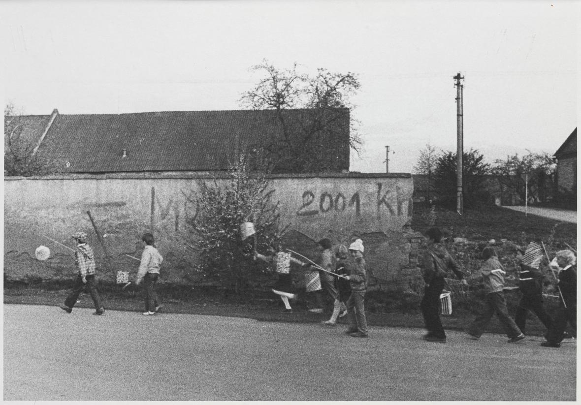 Jindřich Štreit / Dlouhá Loučka, 1981