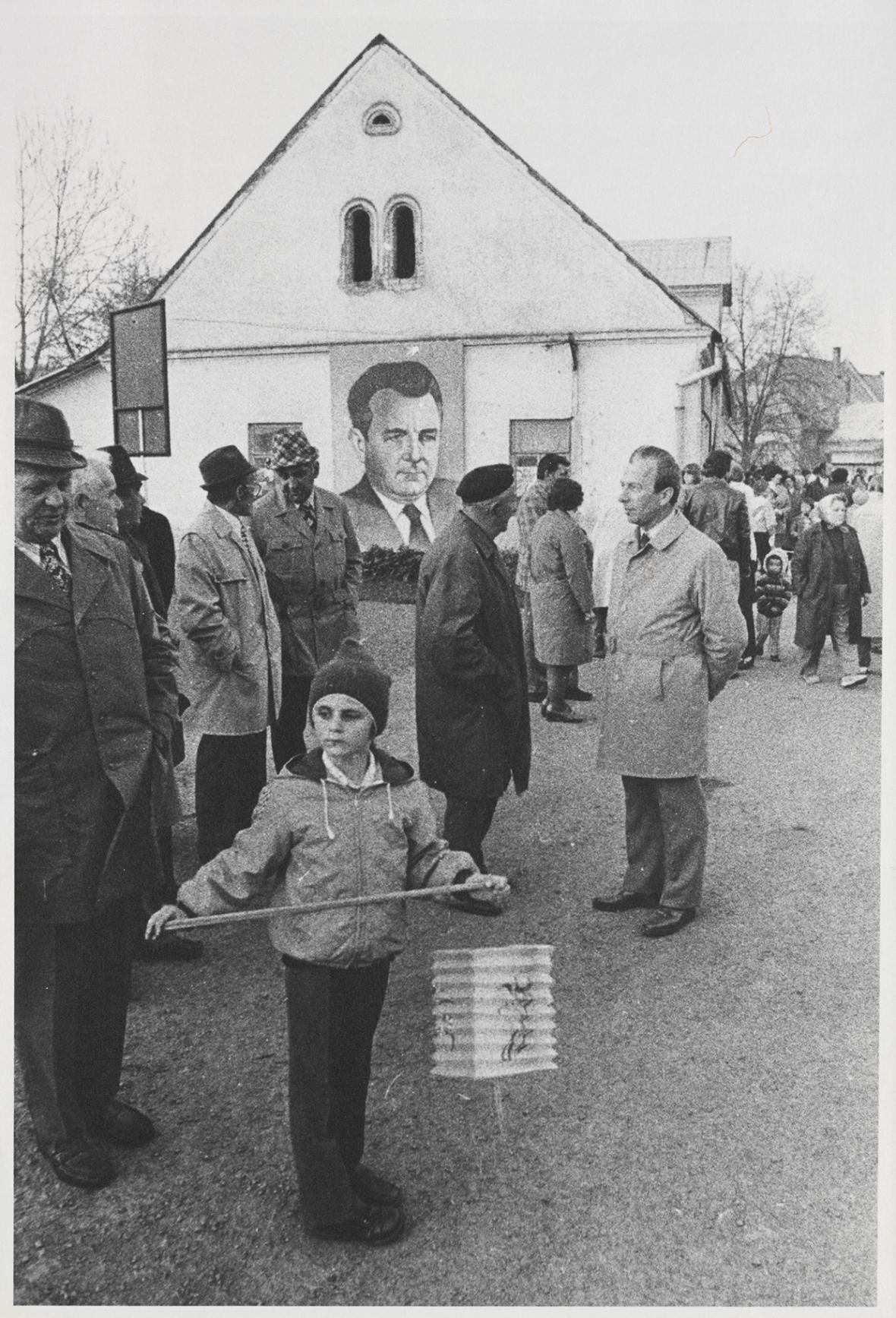 Jindřich Štreit / Dlouhá Loučka, 1982