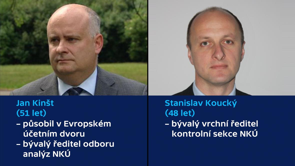 Jan Kinšt a Stanislav Koucký