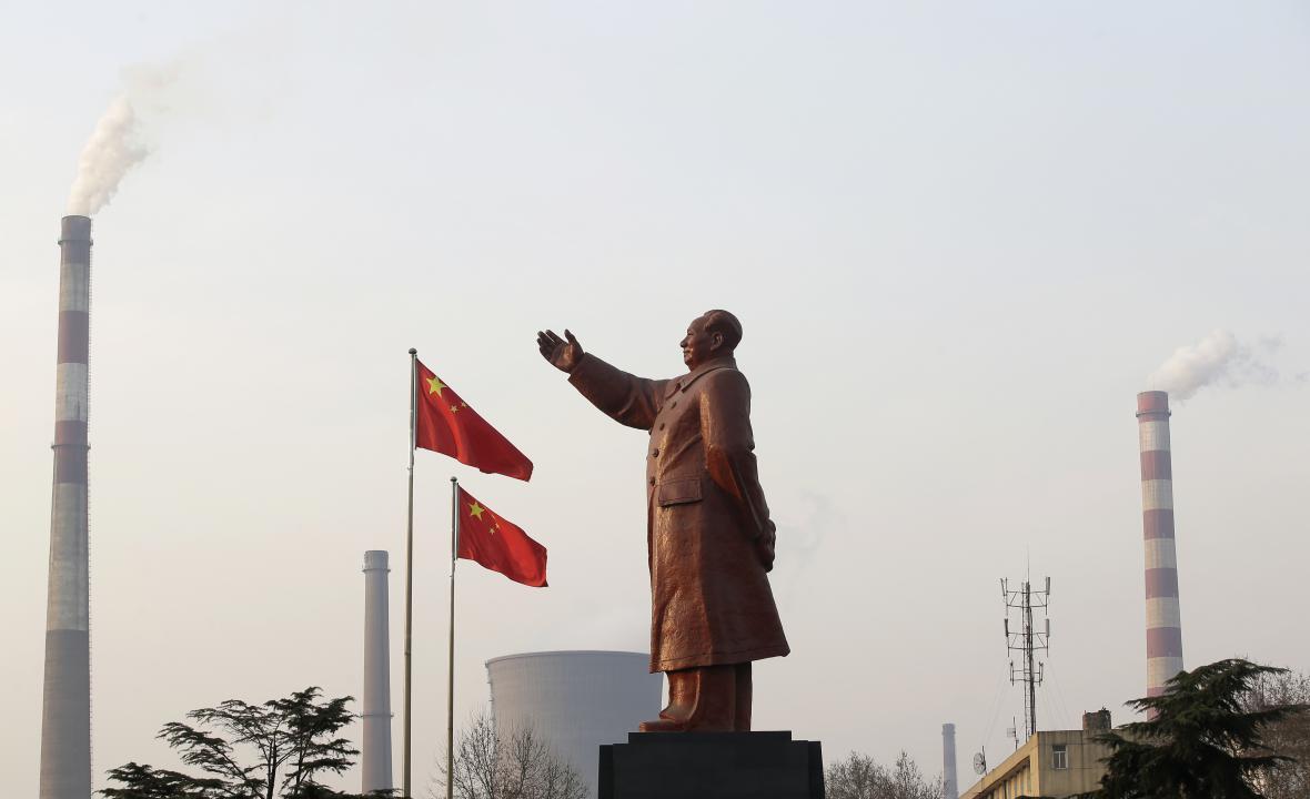 Socha Mao Ce-tunga