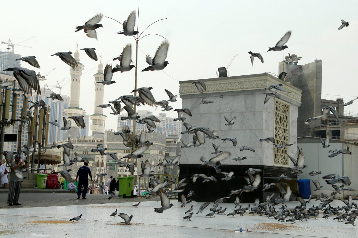 Velká mešita v Mekce