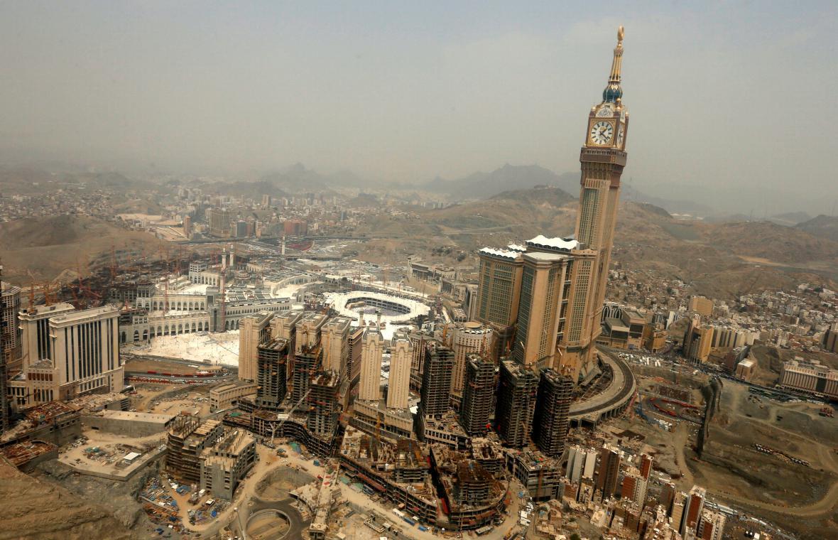 Mekka z ptačí perspektivy