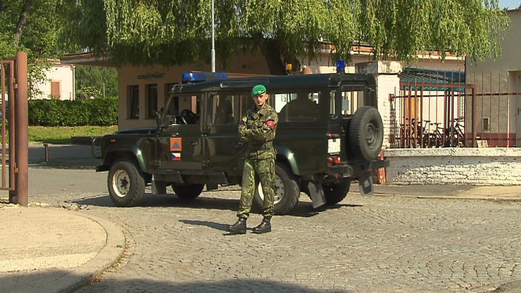 Nová armádní jednotka v Rakovníku