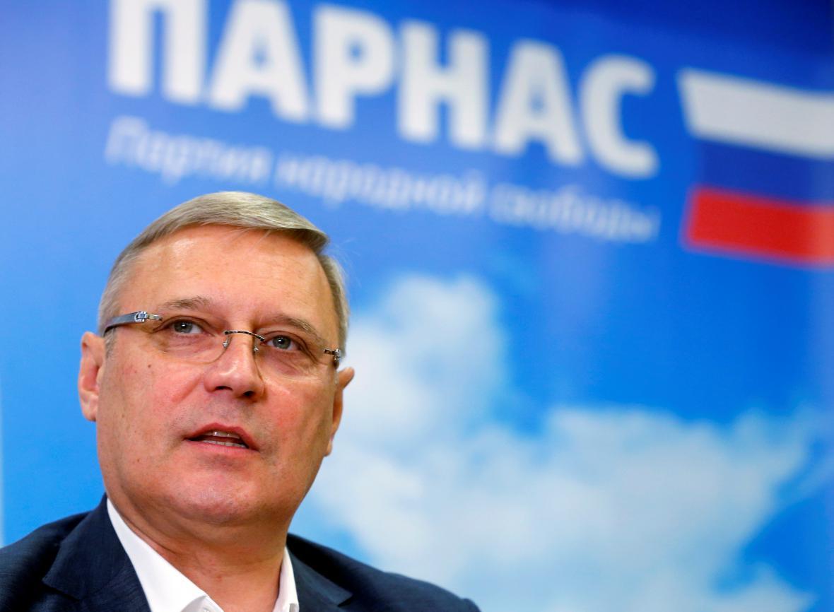 Předseda Strany národní svobody Michail Kasjanov