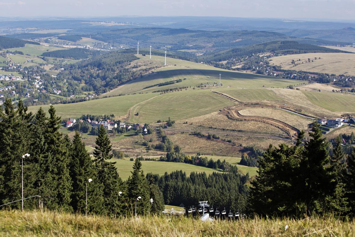 Loučná pod Klínovcem, jedno z nejmenších českých měst