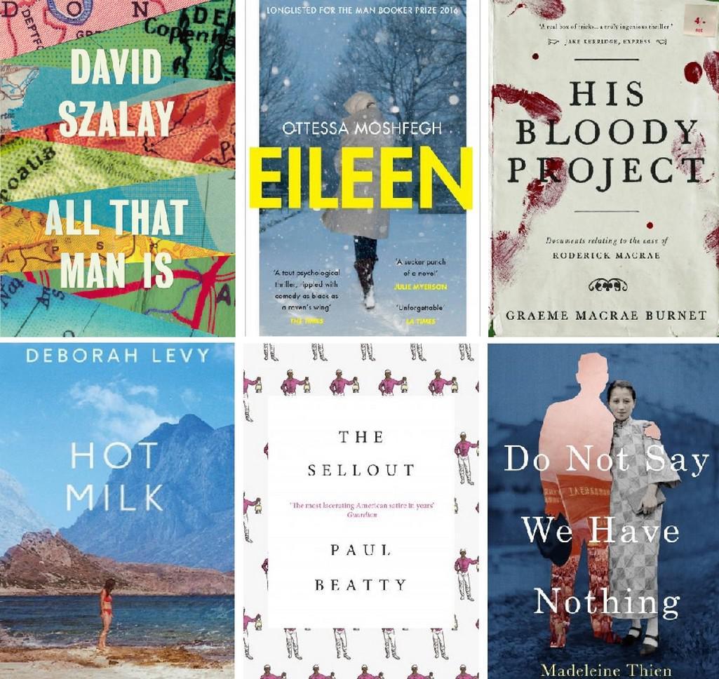 Finalisté Man Booker Prize 2016
