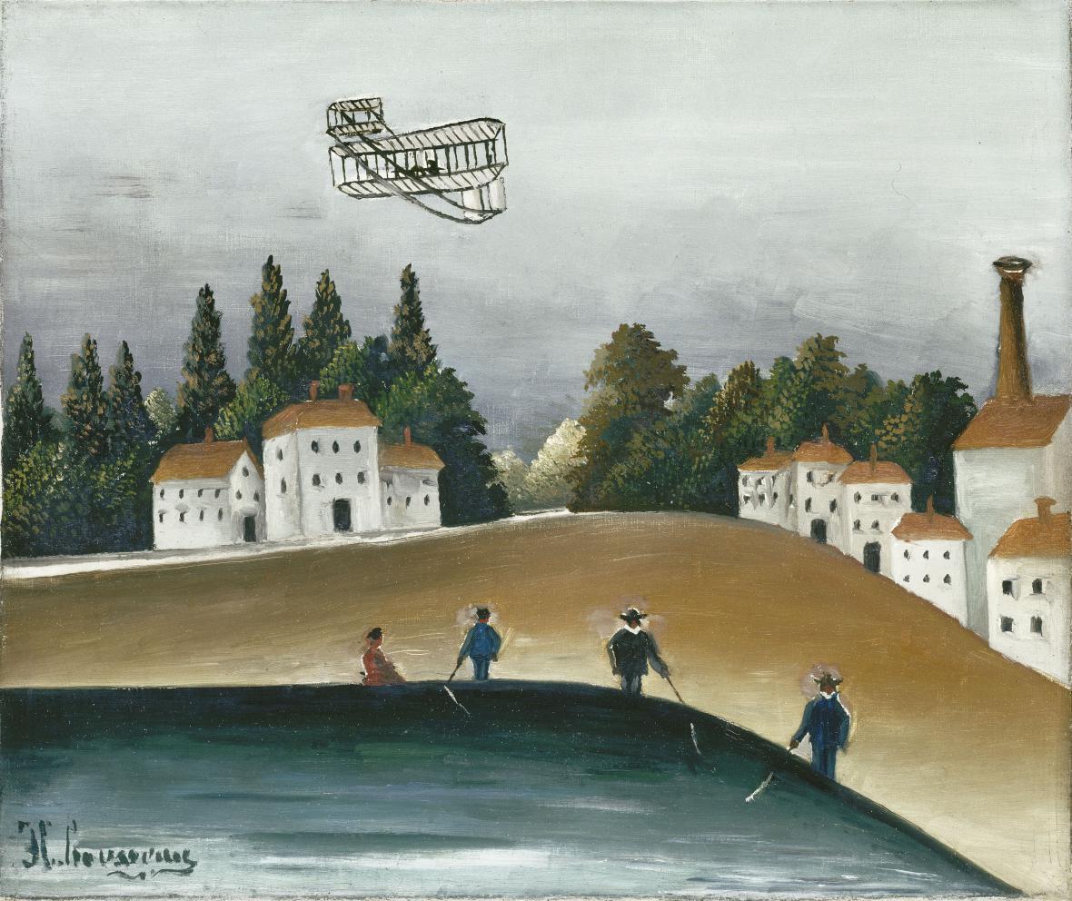 Henri Rousseau / Rybáři, 1908–1909