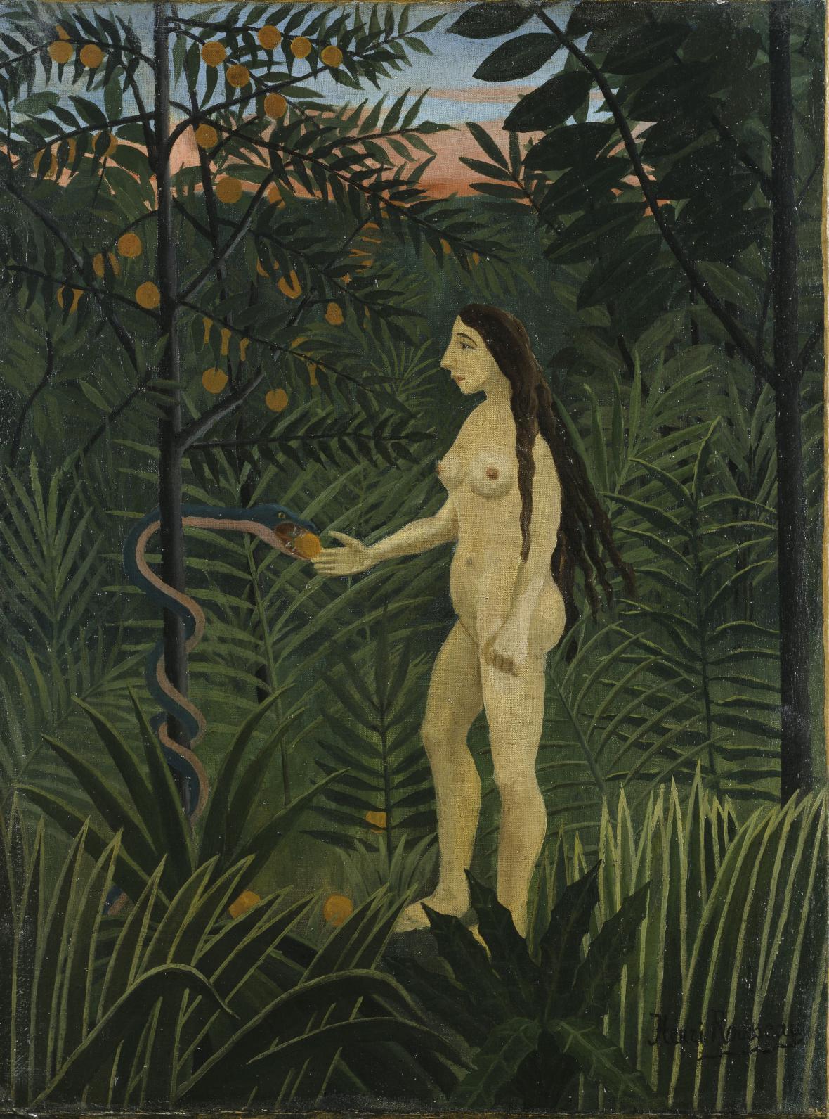 Henri Rousseau / Eva, ca 1906–1907