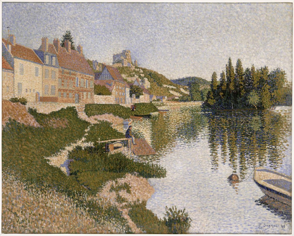 Paul Signac / Les Andelys, 1886