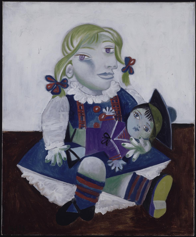 Pablo Picasso / Maya s panenkou, 16. ledna 1938