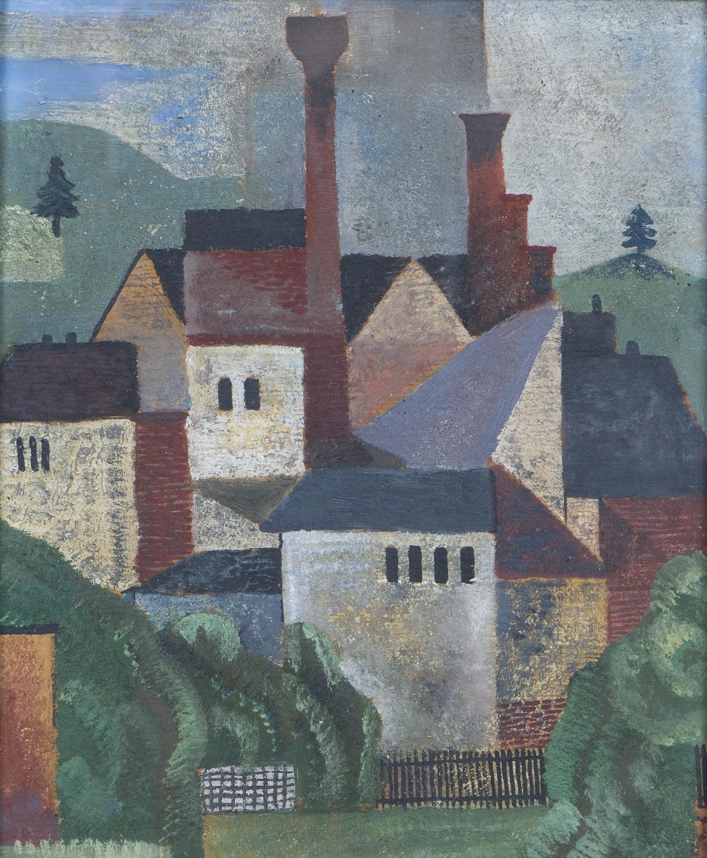 Jindřich Štyrský / Továrny, 1921