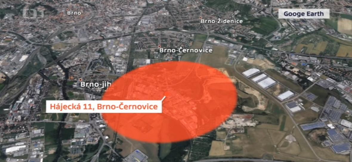 Hasiči určili kilometrový perimetr, ve kterém by měli lidé dodržovat preventivní opatření