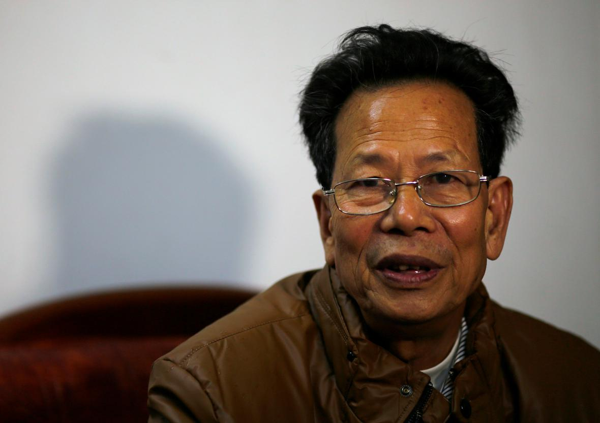 Lin Cu-lian, starosta vesnice Wu-kchan