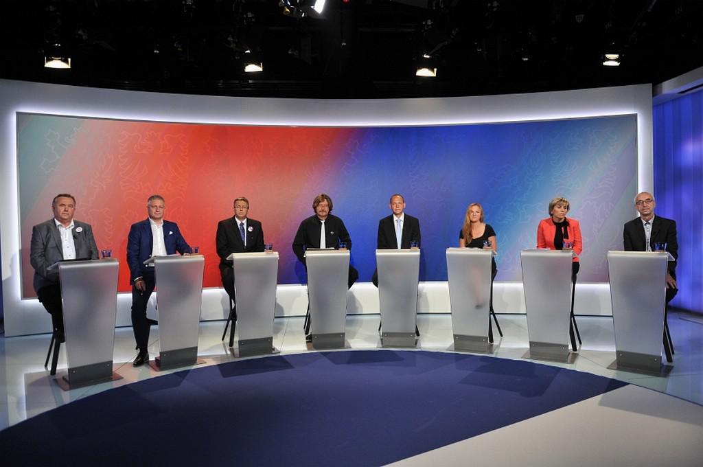 Debata s lídry kanditátek v Karlovarském kraji