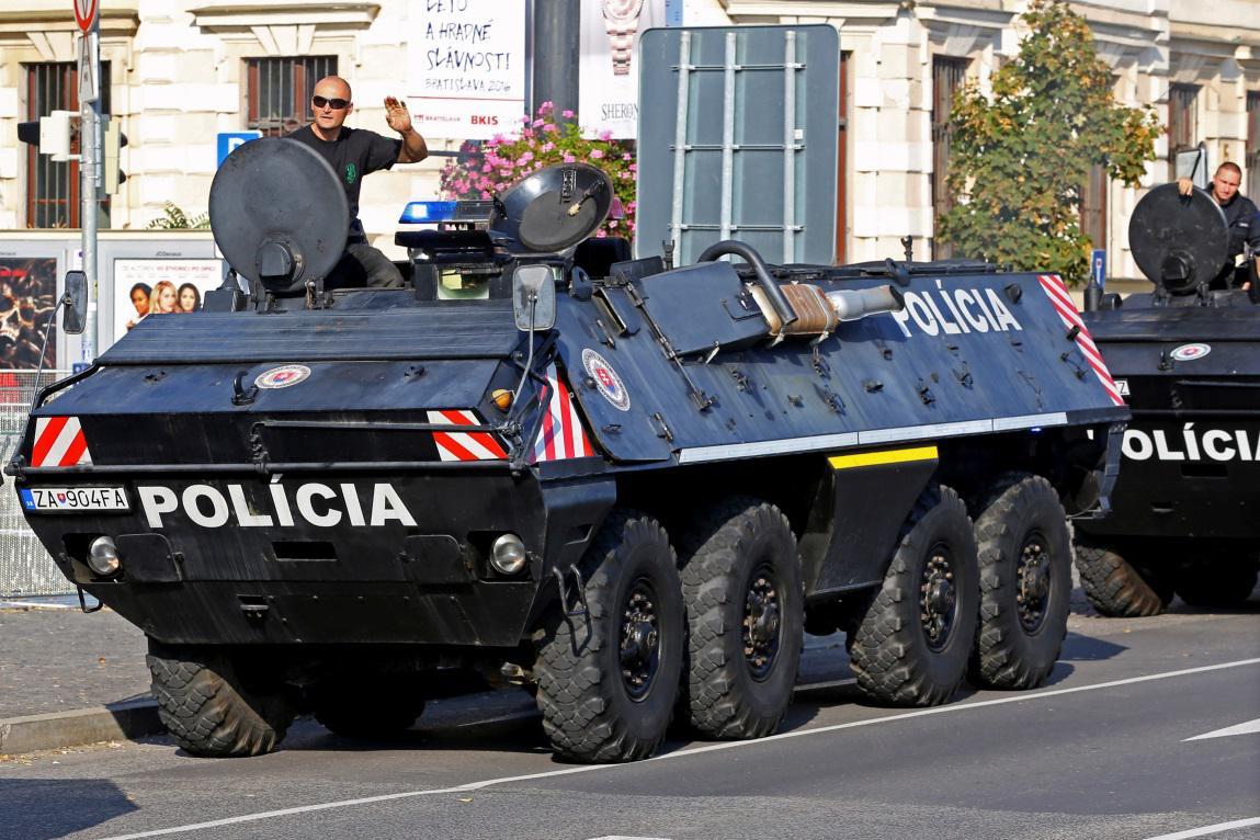Bezpečnostní opatření před summitem EU v Bratislavě