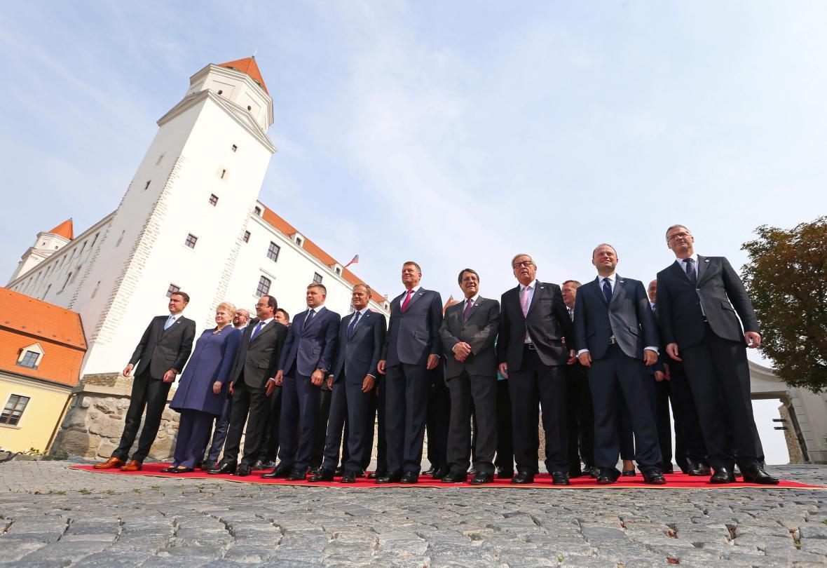 Unijní summit v Bratislavě