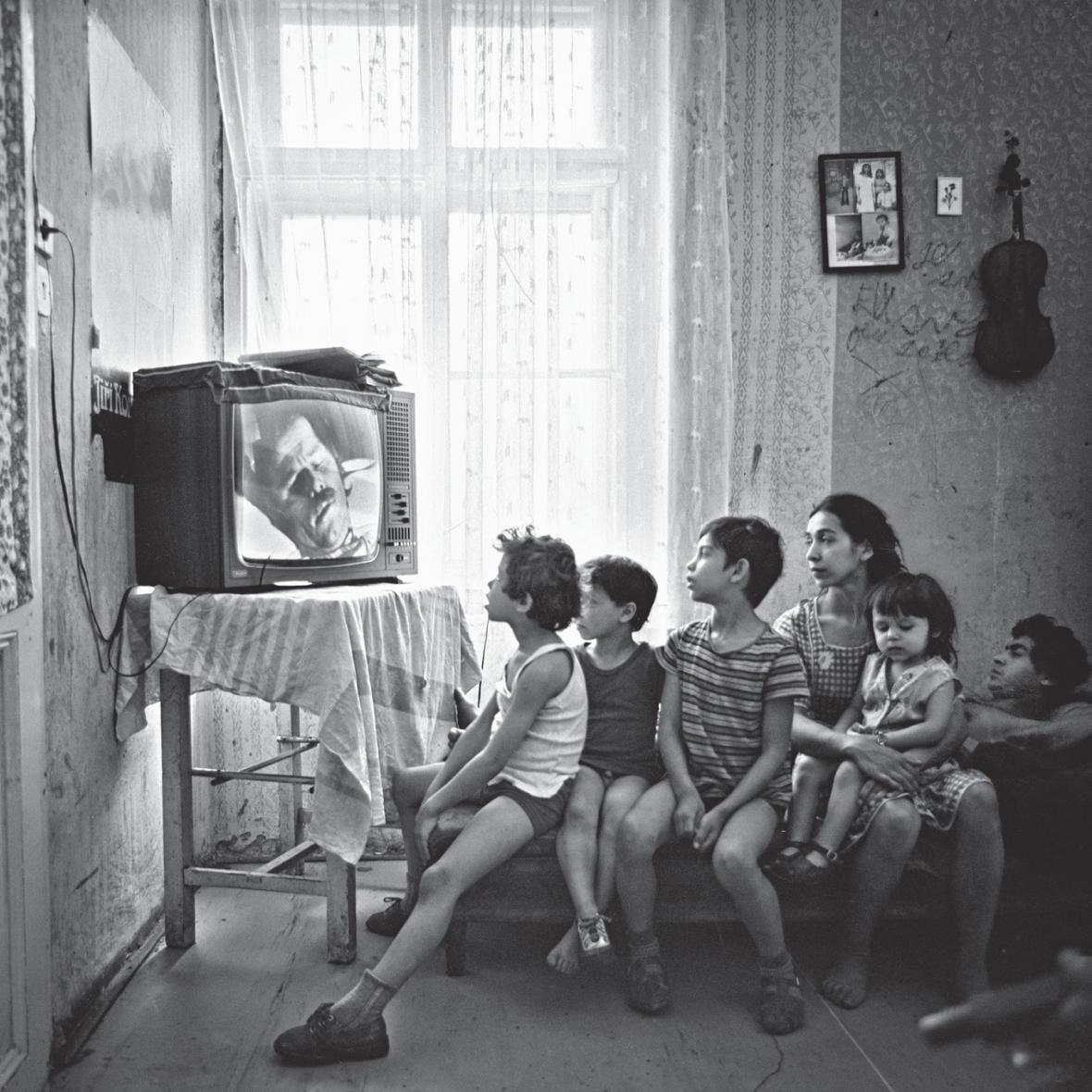 Fotografie Karla Cudlína z knihy Lidie Ostałowské Cikán je Cikán