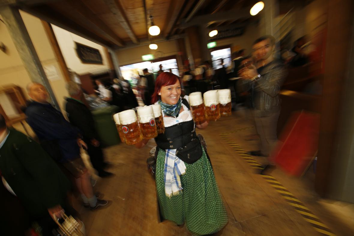 začíná další ročník Oktoberfestu
