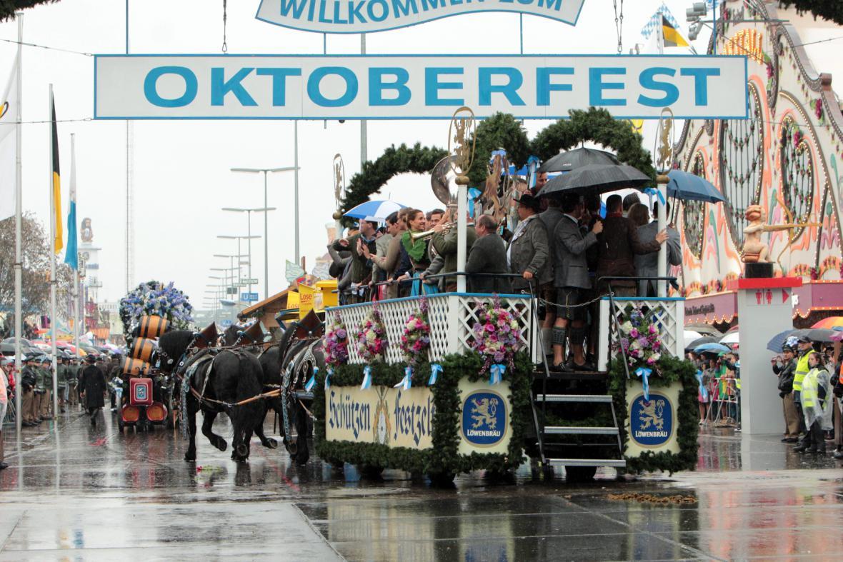 Zahájení 183. ročníku Oktoberfestu