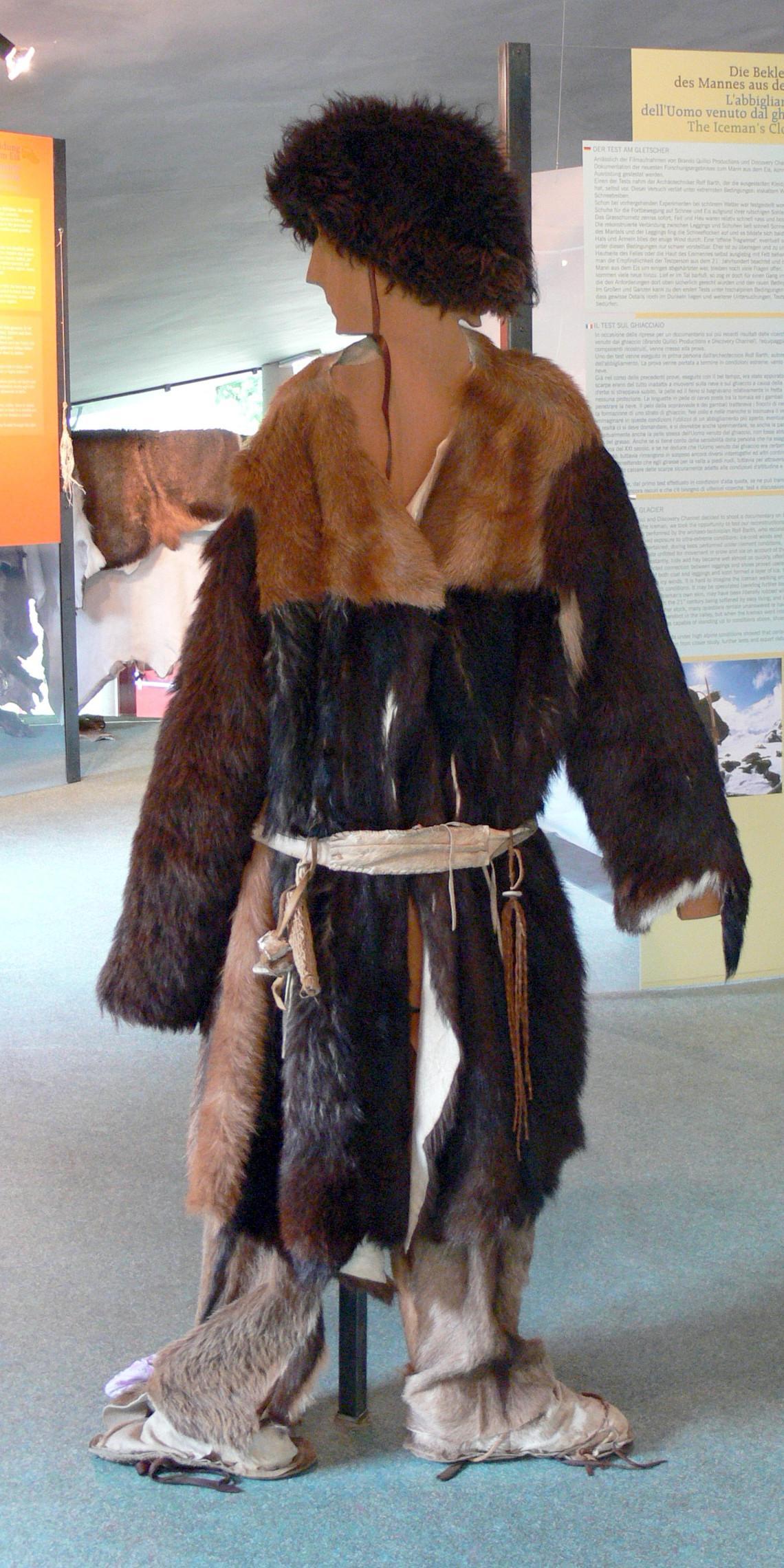 Rekonstrukce Ötziho oblečení