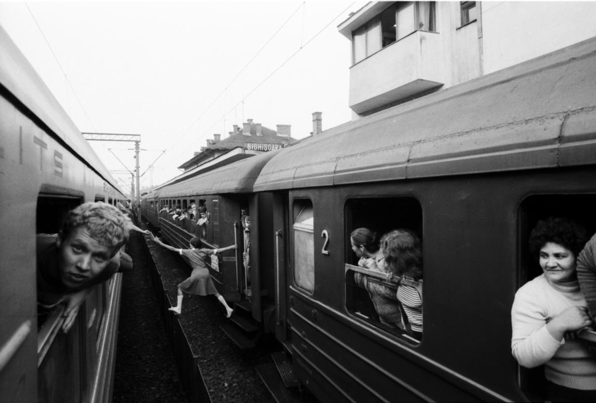 Jan Jindra / Sighisoara, Rumunsko, 1984