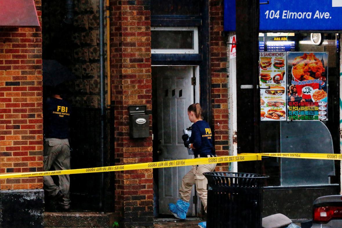 Vyšetřování víkendového výbuchu v New Yorku