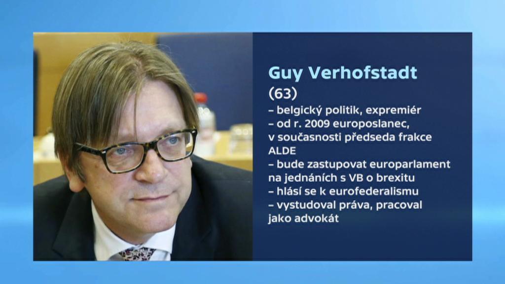 Vizitka: Guy Verhofstadt