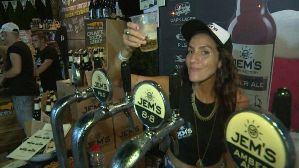 Pivní festival v Tel Avivu