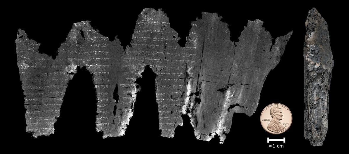 Virtuálně rozvinutý pergamen