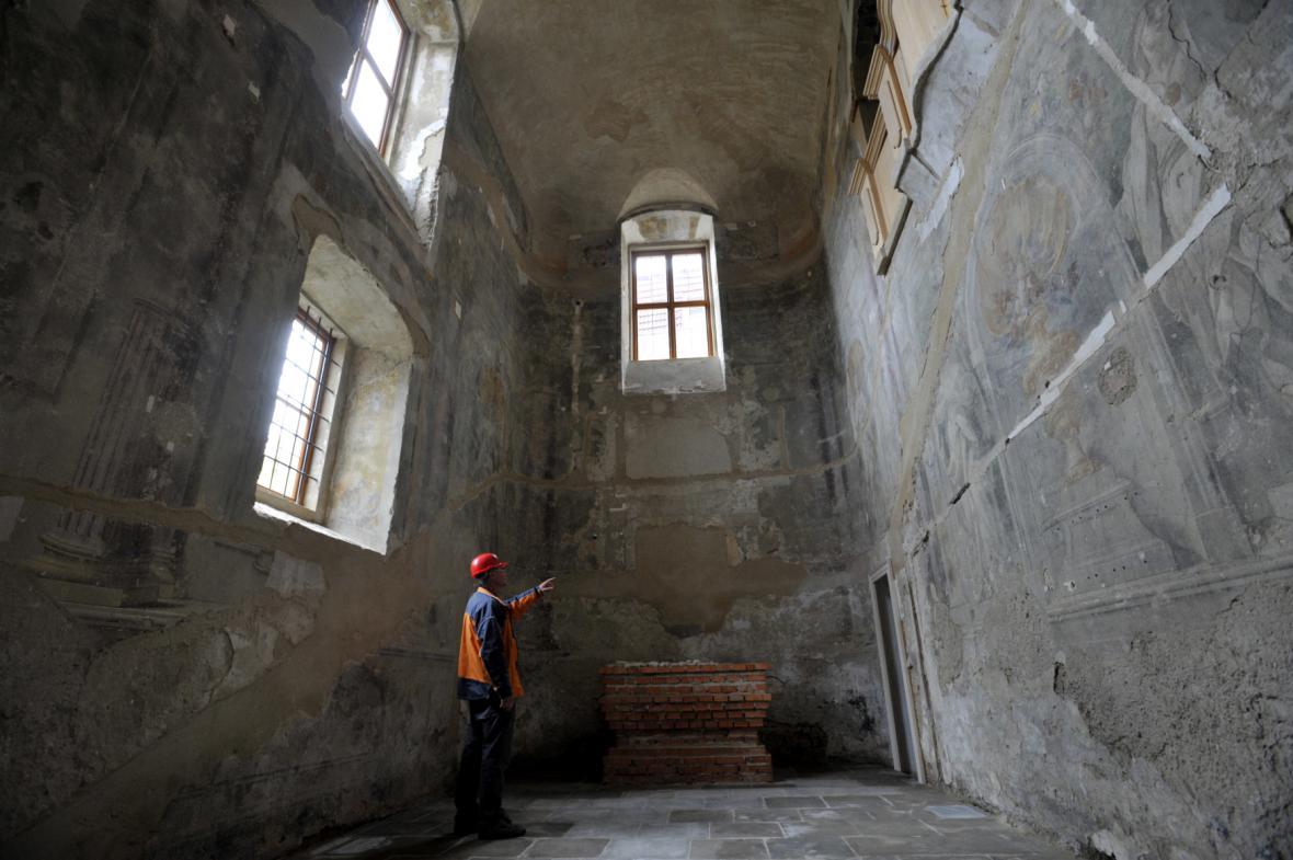 Kaple Smrtelných úzkostí Ježíše Krista na zámku ve Valašském Meziříčí
