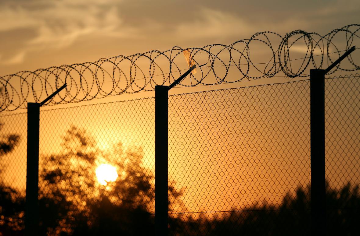 Protiuprchlický plot v Maďarsku