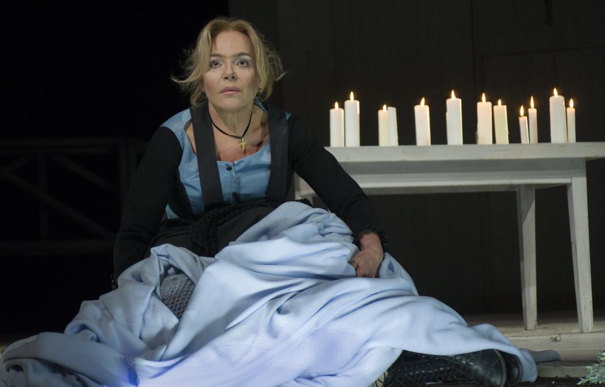 Dagmar Havlová jako Kostelnička v Její pastorkyni