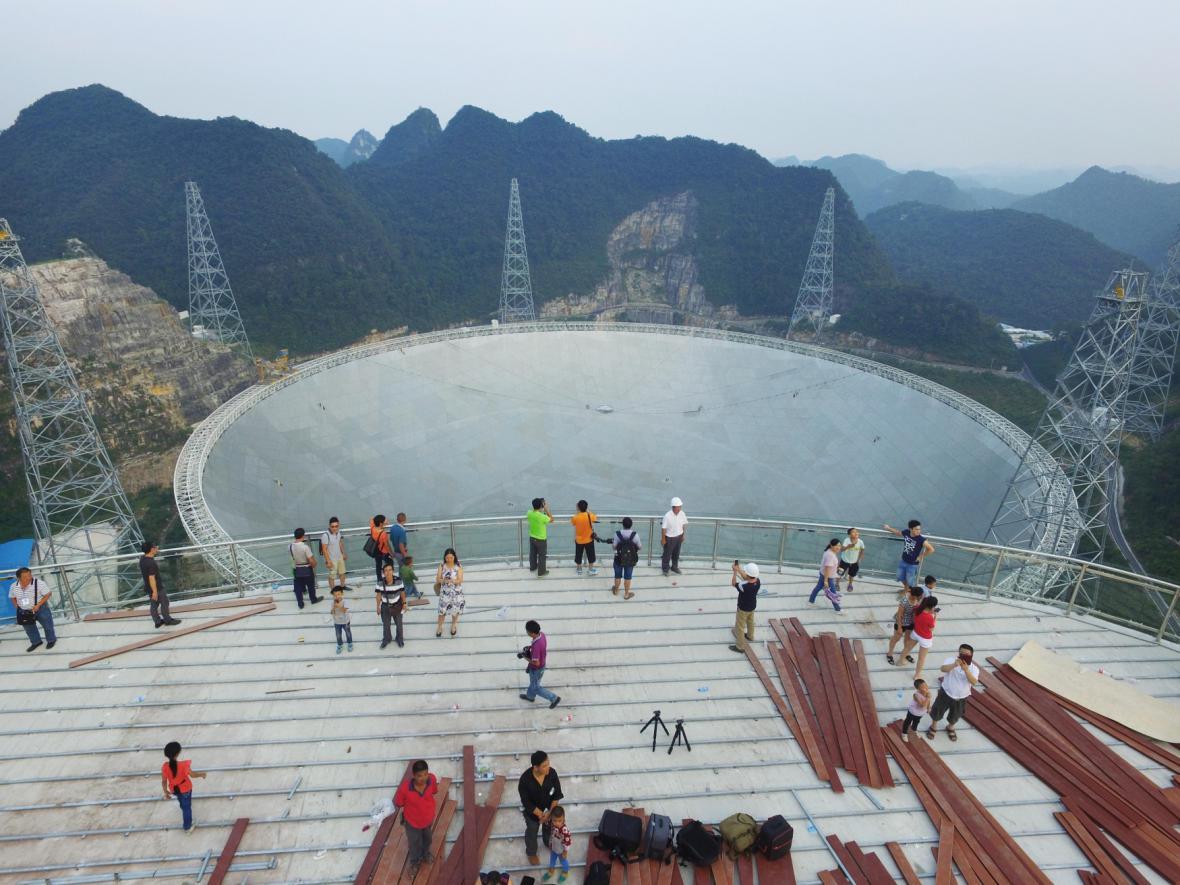 Největší teleskop světa