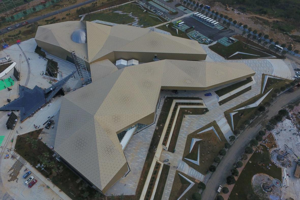 U teleskopu stojí park věnovaný vesmíru