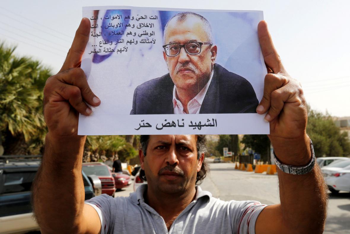 Vražda jordánského spisovatele otřásla jeho příbuznými