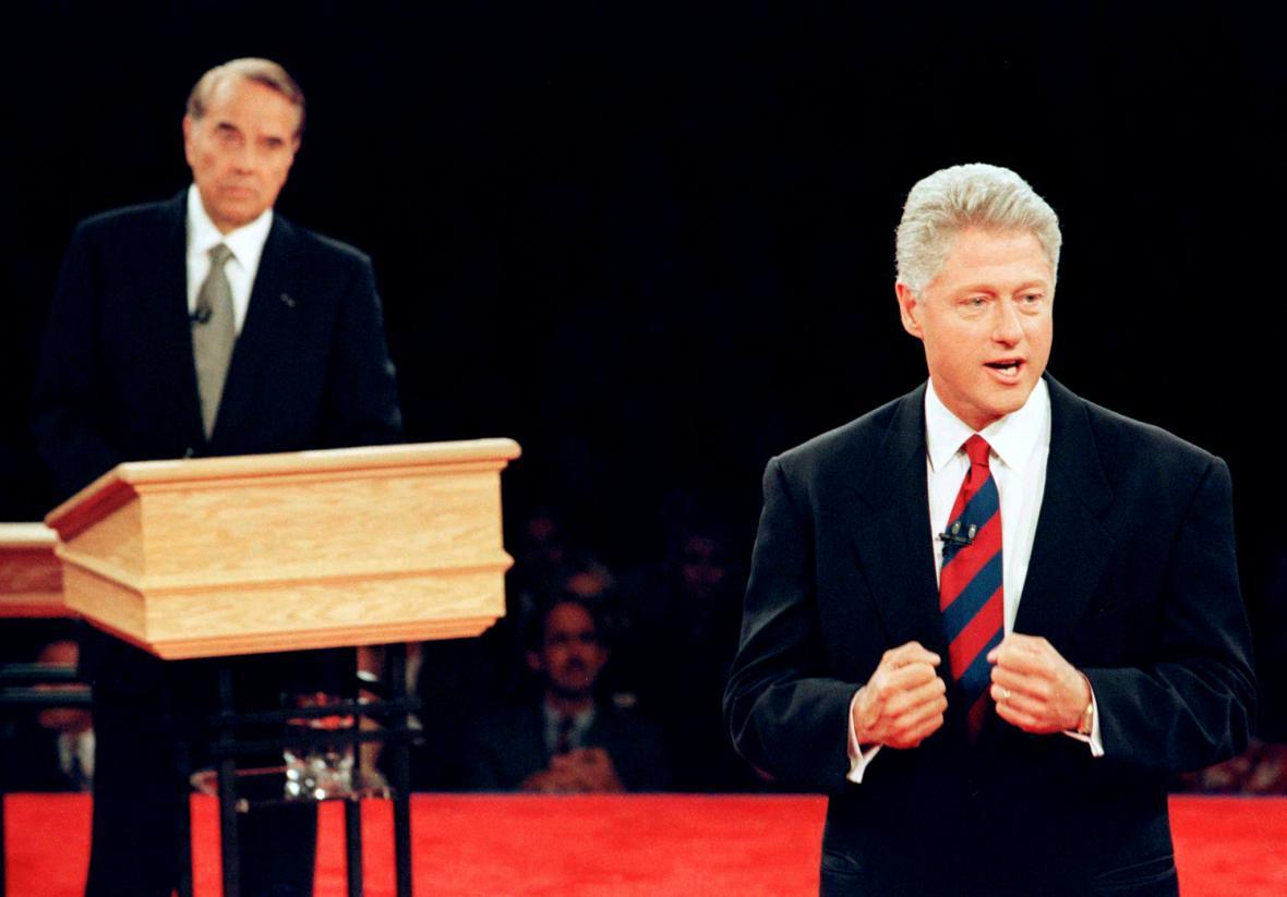 Debata prezidentských kandidátů v roce 1996