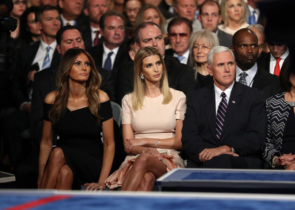 Debatu sledovali i Melania a Ivanka Trumpovi