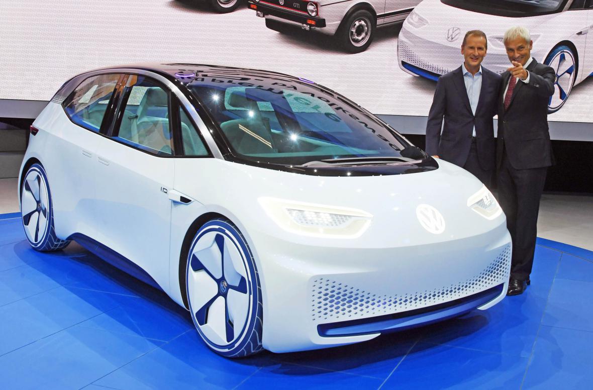 Volkswagen představil zcela elektrické auto VW I.D
