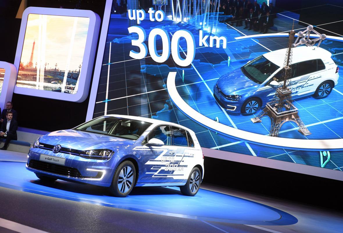 Elektromobil od Volkswagenu e-Golf Touch