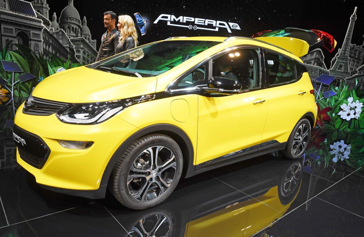 Elektromobil Opel Ampera e