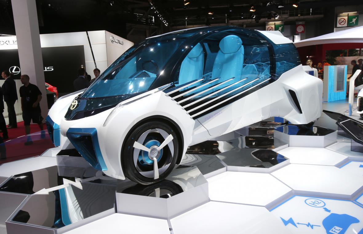 Koncept auta Toyota FGV Plus