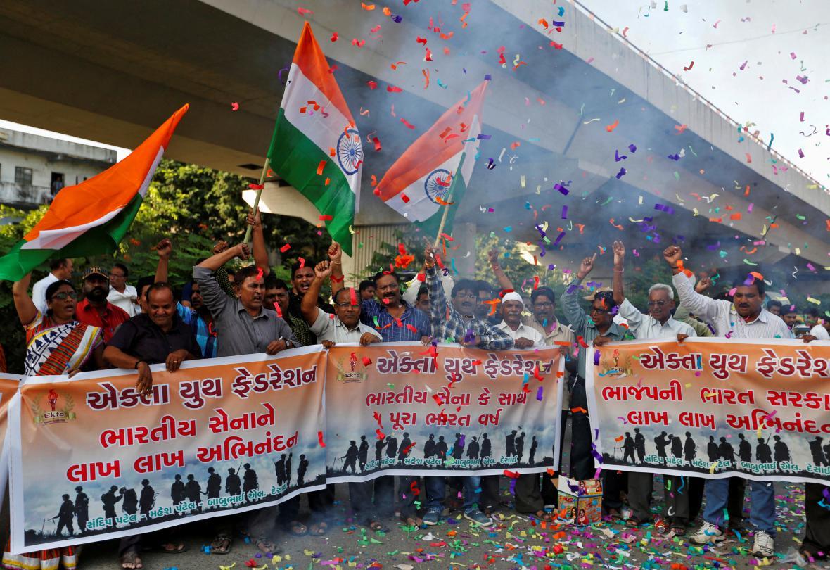 Oslava zákroku indických vojáků