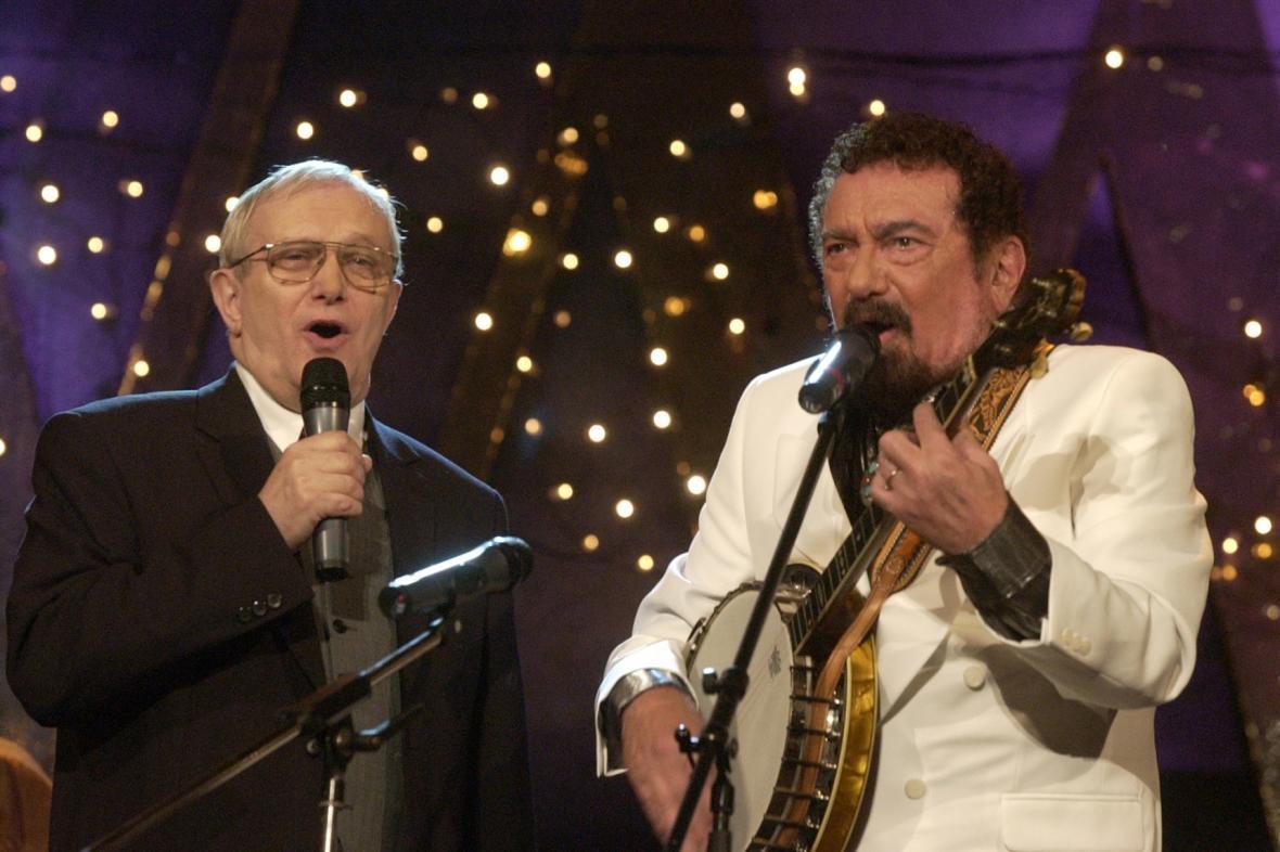 Jiří Suchý a Waldemar Matuška, 2002