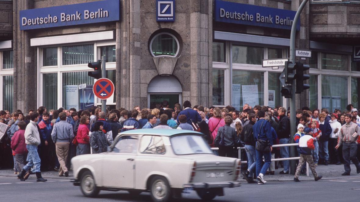 Deutsche Bank v roce 1989