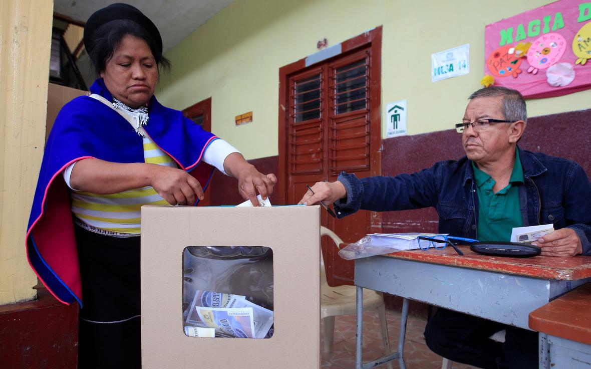 Kolumbijské referendum