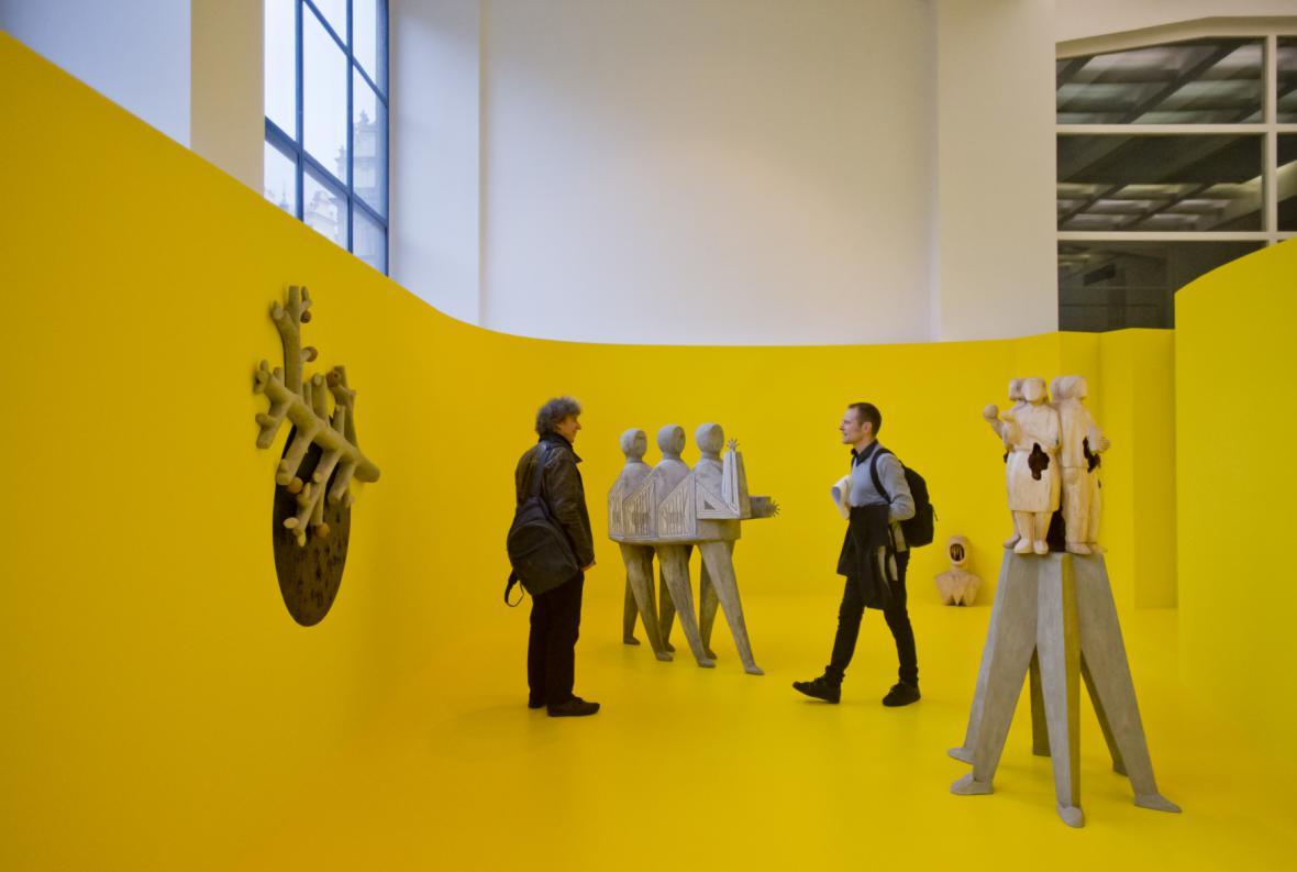Výstava finalistů Ceny Jindřicha Chalupeckého 2016